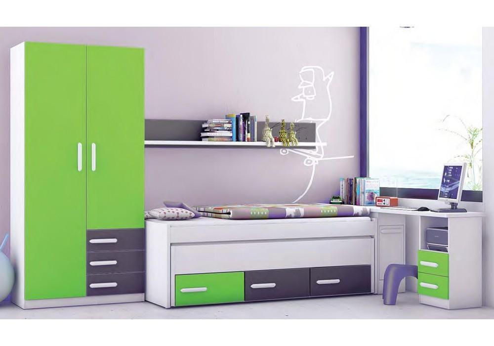 Decorar cuartos con manualidades dormitorios compactos for Compactos juveniles